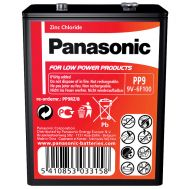 Panasonic PP9, Heavy Duty Battery 9V, fig. 1