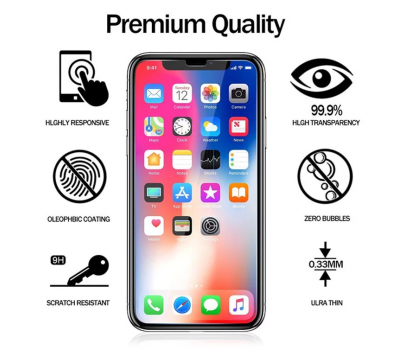 ​Tempered Glass | Screen Protector for iPhone X / 6 / 7 / 8 Plus GLASS, fig. 3