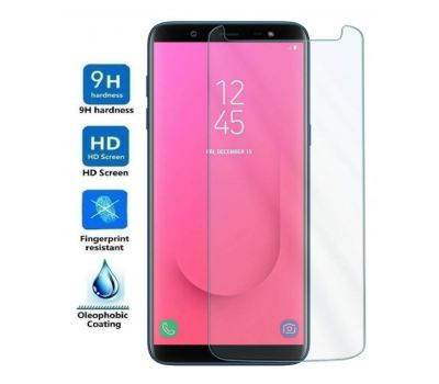 Samsung Galaxy J8 (2018) Tempered Glass Screen Protector, fig. 1