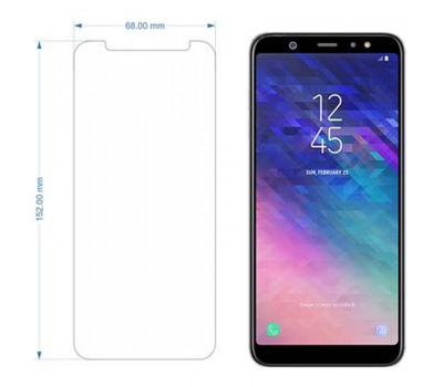 Galaxy A6 2018 Screen Protector, Galaxy A6 2018 Tempered Glass, fig. 3