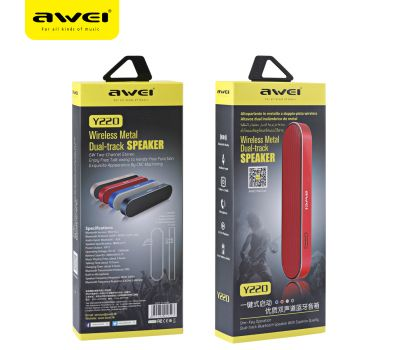 Bluetooth Speaker AWEI Y220 Easy Metal Portable, fig. 4